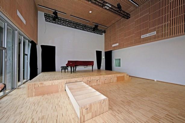 Skolen i Bymidten - koncertsal