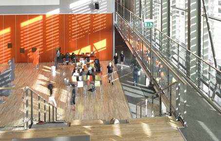 Ringkøbing Skole : Skole med samlende torv og multisal