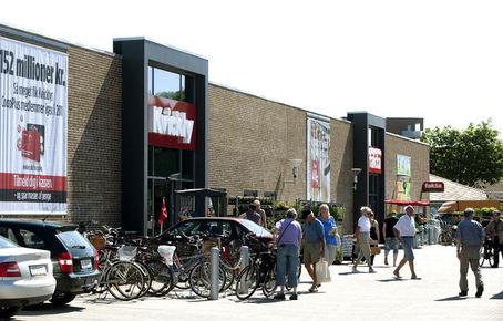 byggeri butikscenter kvickly grindsted